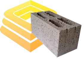 керамзитобетонный блок 390x190x188