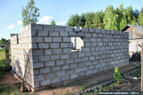 Строительство бани в Кафтино