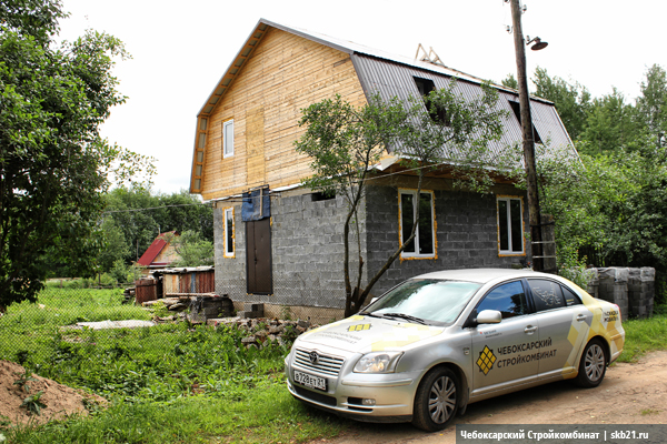 Строительство дома в Тверской области